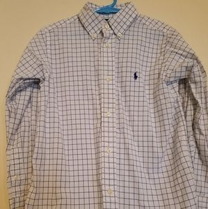 Boys size 6 Ralph Lauren Polo button down shirt